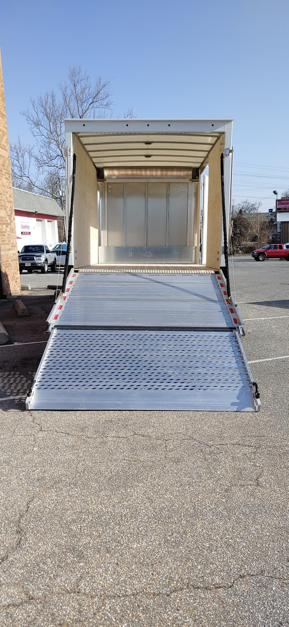 2021 NPR HD Gas Truck with Proscaper Body Pull down Ramp with Side doors 3 year Roadside Assistance 20210304_084919-scaled